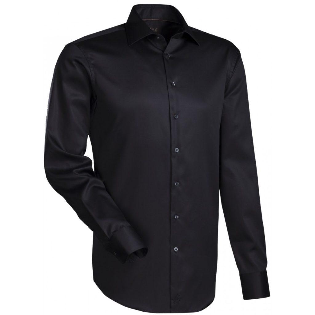 Voorbeeld zwart overhemd van Overhemden.com